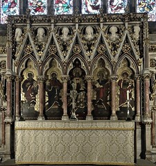 [47452] St George, Doncaster : High Altar (Budby) Tags: doncaster church southyorkshire victorian minster reredos highaltar