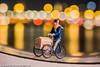 Minipeoplopolis, part 1; mailman on the way (JdJ Photography (www.jdj-photography.nl)) Tags: ijpromenade overhoeks buiksloterham amsterdamnoord amsterdamnorth amsterdam mokum stad city grootamsterdam agglomeratie noordholland northholland provincie province nederland netherlands land country benelux europa europe continent avond evening nacht night minipeoplopolis littlepeopleproject postbode mailman iamsterdam standbeeld statue fiets bicycle straatverlichting streetlights bokeh scherpteondiepte depthoffield