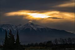 Coucher de soleil sur le Canigou (jyleroy) Tags: sunset coucherdesoleil montagne mountain neige snow nuages clouds pyrénéesorientales panasonic lumix fz200 nationalgeographicgroup ngc magiclights