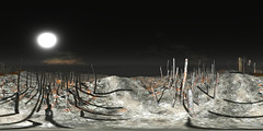 sl360@Burning by Cica too (ErikoLeo) Tags: 360° panorama landscape flickrlovers firestorm secondlife