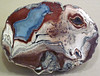 Agate-filled geode (Las Choyas Geode Deposit, near-latest Eocene, ~35 Ma; Chihuahua, Mexico) 7 (James St. John) Tags: las choyas geode deposit eocene chihuahua mexico tertiary agate nodule nodules quartz geodes