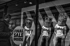 MinistryOfSillyFaces (Peter M. Meijer) Tags: rotterdam thenetherlands holland urban city people bw fujixt1 fuji23mmwr20 strasse street strada straat