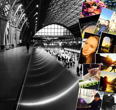 These Foolish Things (sjpowermac) Tags: paris louvre foolish love stpancras roses piano gare austerlitz station sigh memories reflections eiffeltower nortedame tickets skater water beautiful lady fizzy drink spi barlow trainshed europe london romance lights maschwitz