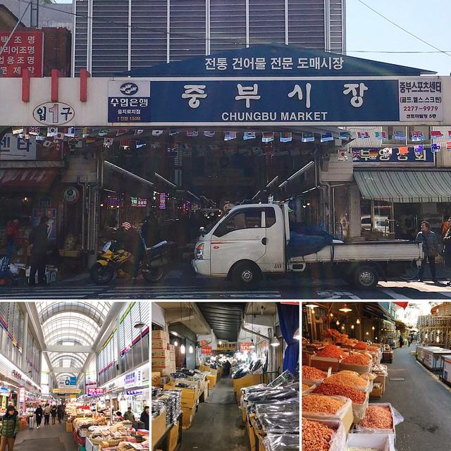 首爾 ▪ 乙支路四街 중부시장 中部市場 美味小吃紀行