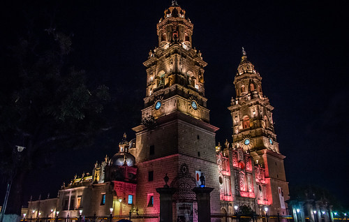 2016 - Mexico - Morelia - Cathedral - 2 of 2