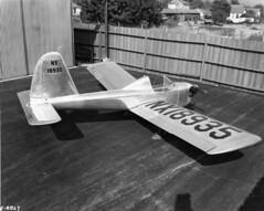 Lockheed Little Dipper NX18935 1945 [mfr via RJF] (San Diego Air & Space Museum Archives) Tags: lockheedlittledipper aircraft nx18935 aviation airplane prototype lockheedcorporation lockheed lockheedmodel33littledipper lockheedmodel33 lockheed33littledipper lockheed33 littledipper franklinenginecompany franklin2 franklin2a4 franklin2a449