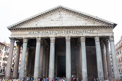 The Pantheon - Rome, Italy (Artotem) Tags: travel italy architecture ruins europe roman archeology romanempire traveler 2015