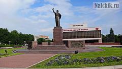 Нальчик. Памятник Марии Темрюковне 2