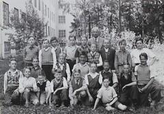 Norra ngby Folkskola, klass 6a, vrterminen 1938 (Olle Sundh) Tags: stockholm norra skola klass bromma svv skolfoto ngby folkskola skolbarn vultejusvgen