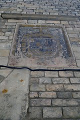 ESCUT DE LA INQUISICI - MUSEU MARS (Yeagov C) Tags: barcelona museu catalunya escut 2015 museufredericmars fredericmars inquisici carrerdelscomtes escutdelainquisici