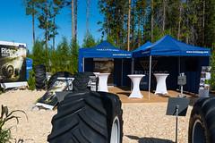 Trelleborg at Skogsnolia forestry exhibition  (19) (TrelleborgAgri) Tags: sweden forestry twin exhibition range pneumatici skidder forestali t414 skogsnolia progressivetraction