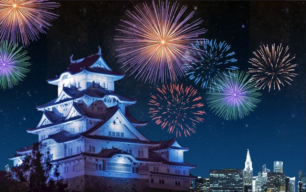 firework in Japan1