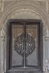 Paigah Tombs #6 (Navin.Images) Tags: wood india art heritage history architecture design woodwork carving historic hyderabad tombs paigah