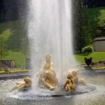 Schloss Linderhof, Brunnenanlage vor dem Schloss (4) thumbnail