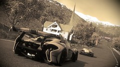 DRIVECLUB_McLaren P1 GTR_ (gianni.costanzi82) Tags: game colors car rain sepia evolution racing mclaren videogame visuals studios vibrante supercar p1 hispeed supercars psn gtr ps4 photomode ps4share drivecblu