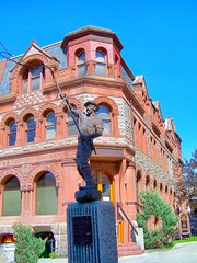 Helena Montana ~ Securities Building Square  ~ Last Chance Gulch ~  Historic (Onasill ~ Bill Badzo) Tags: city statue last mall walking square montana mt tour lewis bank security capitol clark helena chance stores merchants gulch onasill centeraltown lewisclarkcouny