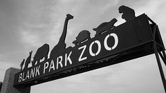 Zoo (mfhiatt) Tags: blackandwhite sign zoo iowa signage desmoines day216 blankparkzoo day216365 365the2015edition 3652015 dscf73570815 4aug15
