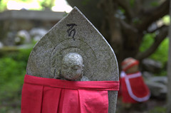 Jizo statues in Oku-no-in Koya-San