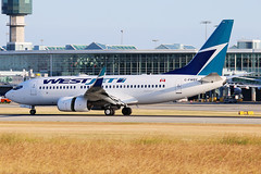 WestJet Boeing 737-7CT C-FWSY (Mark Harris photography) Tags: canada canon planes yvr spotting