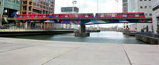 Docklands Light Rail, Canary Wharf.