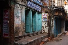 Blue doors, Old Delhi (NovemberAlex) Tags: colour india delhi urban