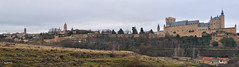 Panorámica Segoviana (Santos M. R.) Tags: segovia patrimonio alcázar catedral españa
