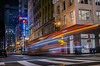 britex 38 (pbo31) Tags: bayarea california nikon d810 night dark black color january 2017 winter boury pbo31 unionsquare gearystreet city sanfrancisco shopping lightstream motion bus muni motionblur infinity neon sign 38 street urban britex fabrics