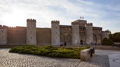 Aljafería palace (Satirenoir) Tags: zaragoza espana spain aljafería aljaferíapalace palace moorishpalace northernspain