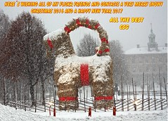 Merry Christmas 2016 (crusaderstgeorge) Tags: crusaderstgeorge merrychristmas2016 merrychristmas 2016 crimbal time again sverige sweden gävle gävleborg snowy csg