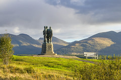 Commando Memorial at Spean Bridge (Kev Gregory (General)) Tags: the sun sets commando memorial spean bridge scottish highlands overlooking tributes lost fallen commandos recent more dated statues stand stark backdrop ben nevis aonach mòr category a listed monument scotland dedicated men british forces world war ii situated village overlooks training areas depot established 942 achnacarry castle unveiled queen mother united kingdom tourist attraction kev gregory canon 7d scenic mountain
