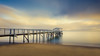 Stillness of an early morning (Chas56) Tags: sunrise morning seascape sea seaside sorrento still stillness calm calmness beach pier jetty structure longexposure ndfilter canon canon5dmkiii water waterfront waterside sand hikey landscape shore light horizon ngc vista wow