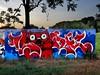 Lortek · Lunar (Walls of Belgrade) Tags: belgrade beograd streetart serbia spraypaint wall park novibeograd graffiti mural lortek lunar