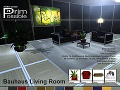 Living Room Set A - Marketplace Template_feb_2012_v2 (Ample Clarity- Owner of Primpossible.com) Tags: livingroom secondlife primpossible one prim adultfurniture slfurniture