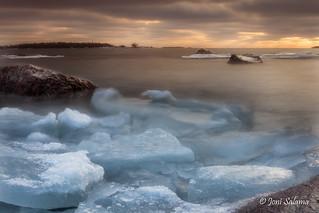 Winter sunrise @ Lauttasaari
