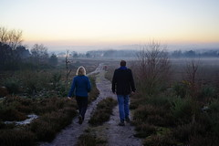 The Long Walk Ahead (Jenny.Lawrence) Tags: landscape nature outdoors walking sunset countryside sonyalpha sony 35mm zeiss hiking a7