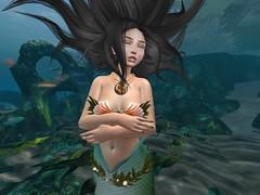Drifting away (aphros triton) Tags: mermaid aquatic slmer secondlife