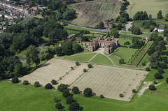Melford Hall in Suffolk - aerial image (John D F) Tags: melfordhall nationaltrust statelyhome mansion suffolk aerial aerialphotography aerialimage aerialphotograph aerialimagesuk aerialview hirez hires highresolution viewfromplane droneview britainfromabove britainfromtheair