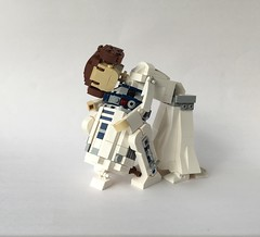 """Did you miss me?"" (Miro78) Tags: leia princess starwars r2d2 lego anewhope episodeiv brickbuilt creation moc tribute miro78"