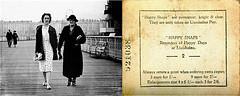 Seaside snapper, 1930s (FreyaFoto) Tags: 1930s seaside snapper llandudno pier