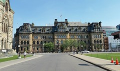 Langevin Block on Parliament Hill (walneylad) Tags: langevinblock parliamenthill ottawa ontario canada heritage building officeoftheprimeminister touristattraction summer august bluesky sun downtown officebuilding view scenery canadian