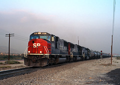 West at Devore (Erie Limited) Tags: southernpacific emd sd70m devoreca palmdalecutoff cajonpass