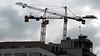 6 - Construire, toujours construire... (melina1965) Tags: janvier january 2017 îledefrance valdemarne créteil nikon coolpix s3700 travail travaux work works ciel sky nuage nuages cloud clouds grue grues crane cranes façade façades mosaïque