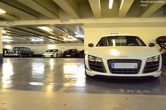 Audi R8 GT (Monde-Auto Passion Photos) Tags: auto automobile audi r8 gt coupé blanc france paris parking supercar sportive mercedes lamborghini gallardo worldcars