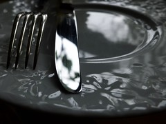 On the table (•Nicolas•) Tags: fork fourchette knife couteau plate assiette detail tableware table nicolasthomas