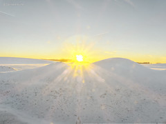 Sunset between ice mountains (GerWi) Tags: sun sonne eisberge ice mountains schnee dessert sonnenstrahlen himmel sky outdoor