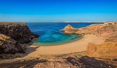 Playa de Papagayo (marypink) Tags: lanzarote canaryislands canarie beach sea landscape paesaggio nikond800 nikkor1635mmf40 sky