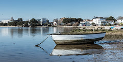 Harbour View (clive_metcalfe) Tags: boat mudeford christchurch harbour harbor dorset uk water