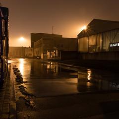 Alte Ruhrorter Straße (jpk.) Tags: 2017 canoneos5dmarkiv duisburg februar hafen nachts ruhrort unterwegs ©janphilipkopka