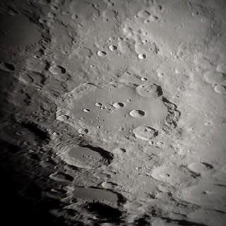 Clavius Closeup, May 28, 2015.