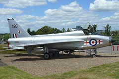 English Electric Lightning (Gareth Can't Fly) Tags: english electric museum plane airport fighter aircraft aviation air jet fast hampshire science trust lightning farnborough raf interceptor fastmuseum